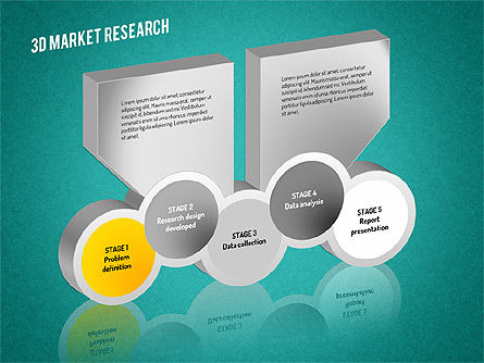 Market Research Diagram, Slide 15, 01559, Business Models — PoweredTemplate.com