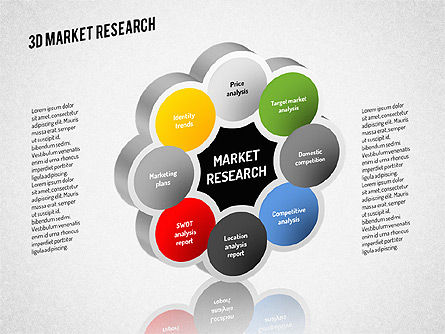 Market Research Diagram, Slide 2, 01559, Business Models — PoweredTemplate.com