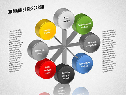 Market Research Diagram, Slide 3, 01559, Business Models — PoweredTemplate.com