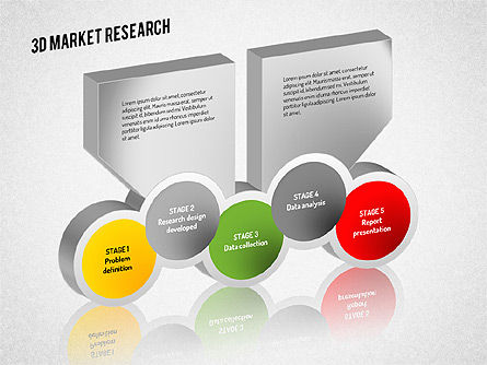 Market Research Diagram, Slide 7, 01559, Business Models — PoweredTemplate.com