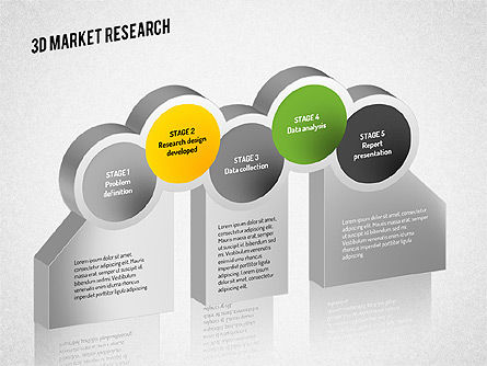 Market Research Diagram, Slide 8, 01559, Business Models — PoweredTemplate.com