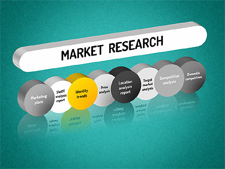 Market Research Diagram, Slide 9, 01559, Business Models — PoweredTemplate.com