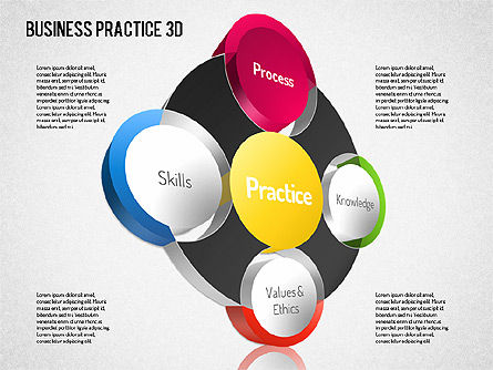Free Business Practice, 01564, Business Models — PoweredTemplate.com