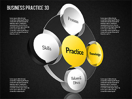 Free Business Practice, Slide 10, 01564, Business Models — PoweredTemplate.com