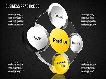 Free Business Practice, Slide 11, 01564, Business Models — PoweredTemplate.com