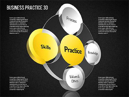 Free Business Practice, Slide 12, 01564, Business Models — PoweredTemplate.com