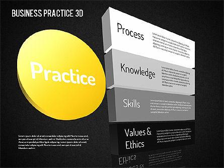 Free Business Practice, Slide 13, 01564, Business Models — PoweredTemplate.com