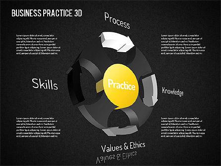 Free Business Practice, Slide 16, 01564, Business Models — PoweredTemplate.com
