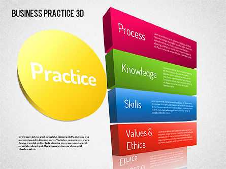 Free Business Practice, Slide 5, 01564, Business Models — PoweredTemplate.com