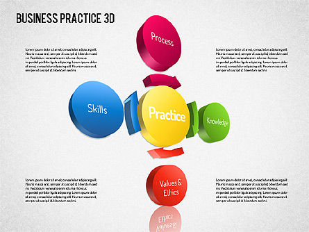 Free Business Practice, Slide 6, 01564, Business Models — PoweredTemplate.com