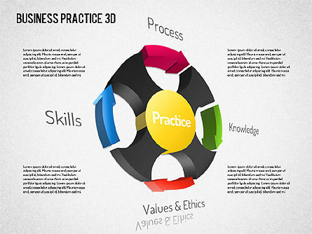 Free Business Practice, Slide 8, 01564, Business Models — PoweredTemplate.com