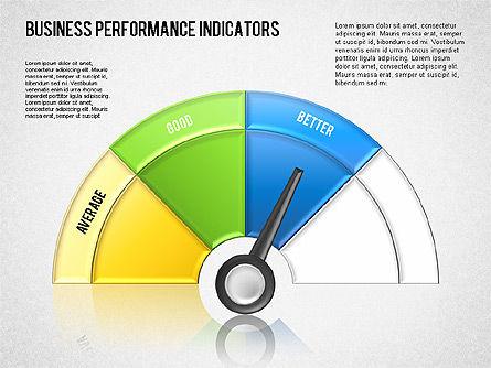 Business Performance Indicator Diagram, Slide 10, 01565, Stage Diagrams — PoweredTemplate.com