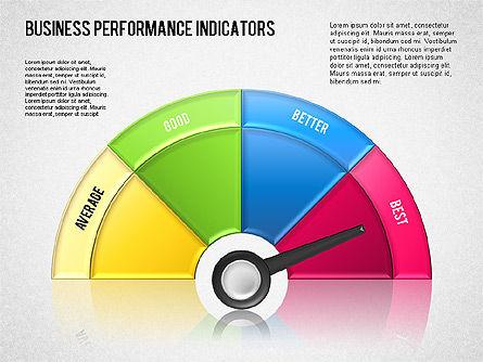 Business Performance Indicator Diagram, Slide 11, 01565, Stage Diagrams — PoweredTemplate.com