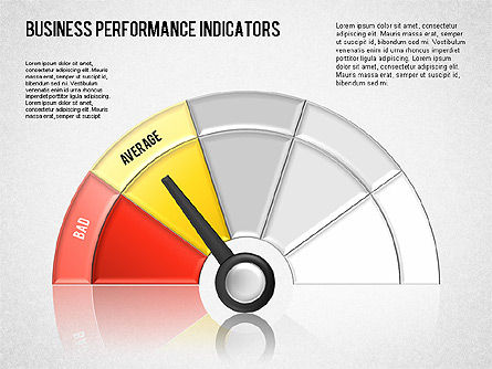 Business Performance Indicator Diagram, Slide 13, 01565, Stage Diagrams — PoweredTemplate.com