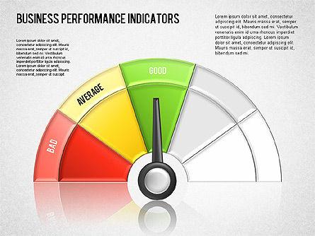 Business Performance Indicator Diagram, Slide 14, 01565, Stage Diagrams — PoweredTemplate.com