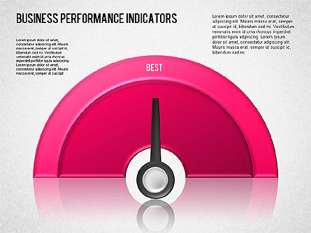 Business Performance Indicator Diagram, Slide 2, 01565, Stage Diagrams — PoweredTemplate.com