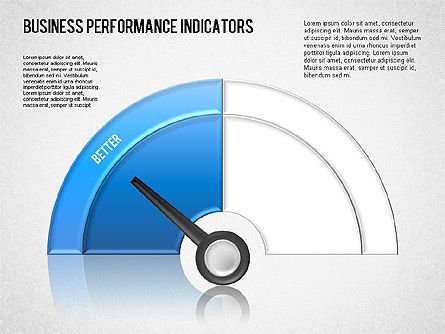 Business Performance Indicator Diagram, Slide 3, 01565, Stage Diagrams — PoweredTemplate.com