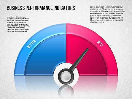 Business Performance Indicator Diagram, Slide 4, 01565, Stage Diagrams — PoweredTemplate.com