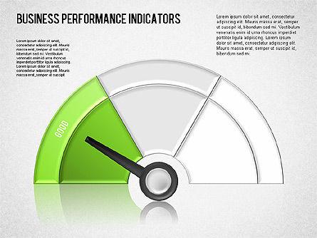 Business Performance Indicator Diagram, Slide 5, 01565, Stage Diagrams — PoweredTemplate.com