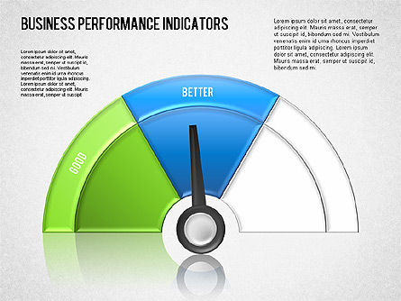 Business Performance Indicator Diagram, Slide 6, 01565, Stage Diagrams — PoweredTemplate.com