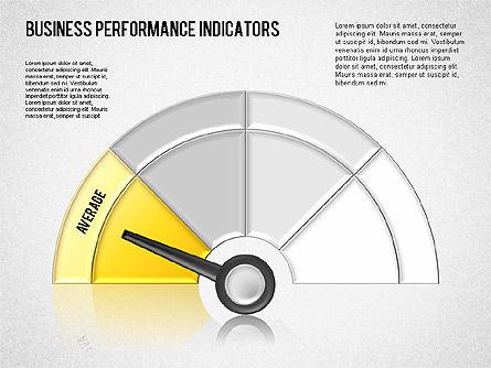 Business Performance Indicator Diagram, Slide 8, 01565, Stage Diagrams — PoweredTemplate.com