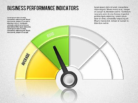 Business Performance Indicator Diagram, Slide 9, 01565, Stage Diagrams — PoweredTemplate.com