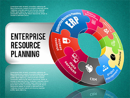 Enterprise Resource Planning Diagram, Slide 11, 01568, Business Models — PoweredTemplate.com