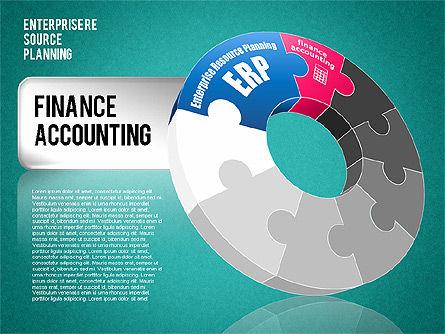 Enterprise Resource Planning Diagram, Slide 12, 01568, Business Models — PoweredTemplate.com