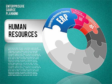 Enterprise Resource Planning Diagram, Slide 13, 01568, Business Models — PoweredTemplate.com