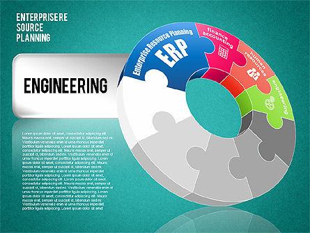 Enterprise Resource Planning Diagram, Slide 14, 01568, Business Models — PoweredTemplate.com