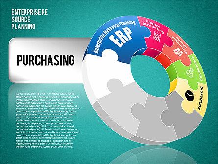 Enterprise Resource Planning Diagram, Slide 15, 01568, Business Models — PoweredTemplate.com