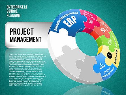 Enterprise Resource Planning Diagram, Slide 16, 01568, Business Models — PoweredTemplate.com