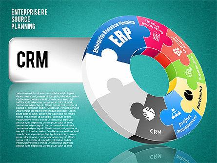 Enterprise Resource Planning Diagram, Slide 17, 01568, Business Models — PoweredTemplate.com