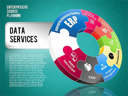 Enterprise Resource Planning Diagram, Slide 18, 01568, Business Models — PoweredTemplate.com