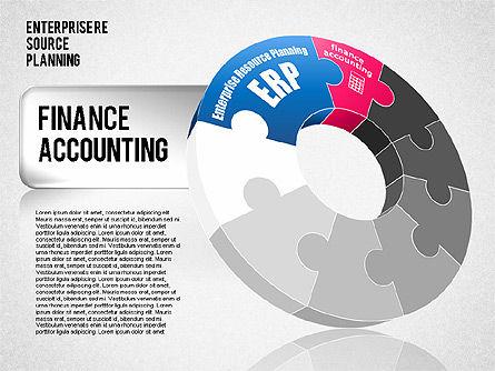 Enterprise Resource Planning Diagram, Slide 2, 01568, Business Models — PoweredTemplate.com