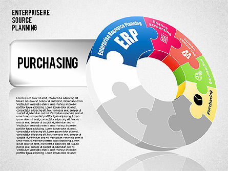 Enterprise Resource Planning Diagram, Slide 5, 01568, Business Models — PoweredTemplate.com
