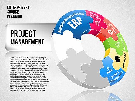 Enterprise Resource Planning Diagram, Slide 6, 01568, Business Models — PoweredTemplate.com