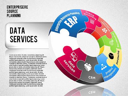 Enterprise Resource Planning Diagram, Slide 8, 01568, Business Models — PoweredTemplate.com