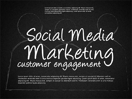 Social Media Marketing Shapes, Slide 9, 01570, Shapes — PoweredTemplate.com