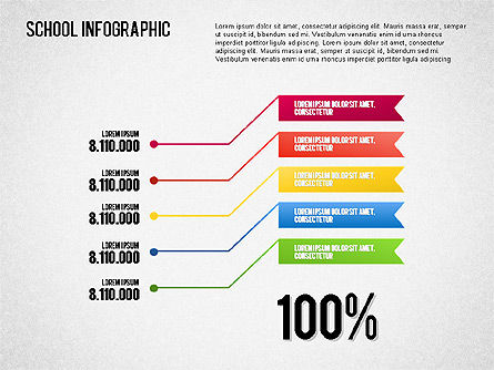 School Infographics, Slide 4, 01571, Education Charts and Diagrams — PoweredTemplate.com