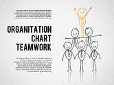 Organizational Charts: Teamwork Org Chart #01575