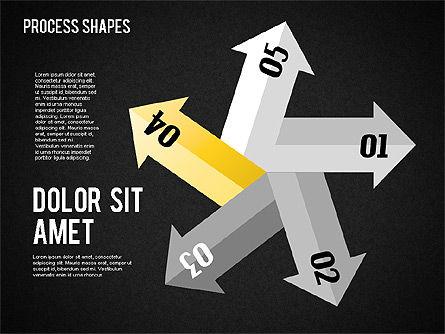 Arrows Toolbox, Slide 12, 01576, Shapes — PoweredTemplate.com
