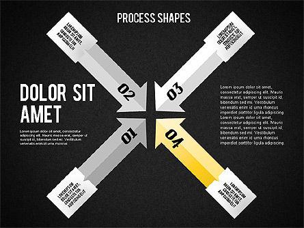 Arrows Toolbox, Slide 14, 01576, Shapes — PoweredTemplate.com