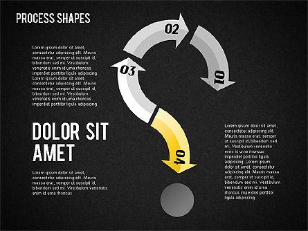 Arrows Toolbox, Slide 15, 01576, Shapes — PoweredTemplate.com