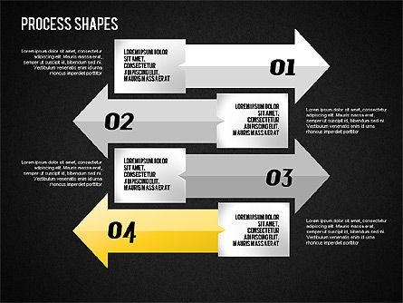 Arrows Toolbox, Slide 16, 01576, Shapes — PoweredTemplate.com