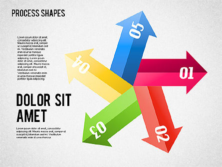 Arrows Toolbox, Slide 4, 01576, Shapes — PoweredTemplate.com