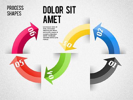 Arrows Toolbox, Slide 5, 01576, Shapes — PoweredTemplate.com