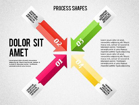 Arrows Toolbox, Slide 6, 01576, Shapes — PoweredTemplate.com