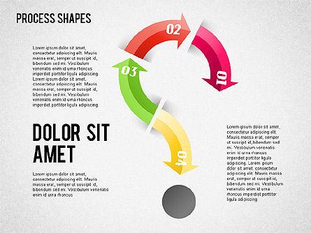 Arrows Toolbox, Slide 7, 01576, Shapes — PoweredTemplate.com