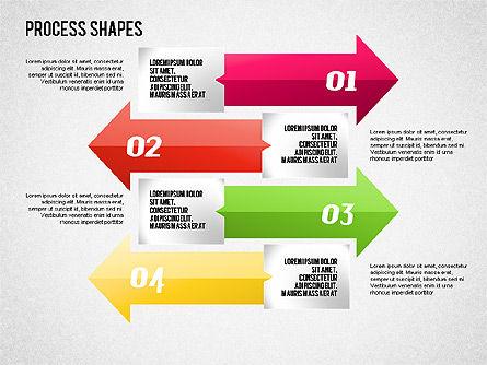 Arrows Toolbox, Slide 8, 01576, Shapes — PoweredTemplate.com